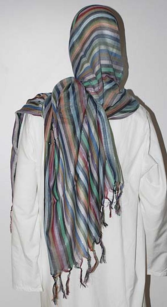 Striped Cotton Blend Shayla  hi1623