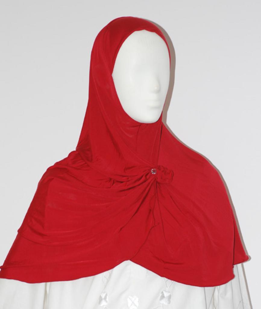 Sparkle Button Al Amirah Shoulder Length Hijab hi1627