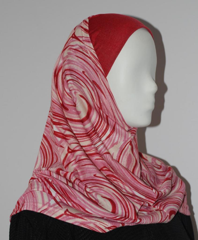 Swirl Pattern Al Amirah Hijab hi1628