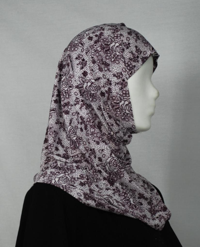 Rose Sketch Al Amirah Hijab hi1645