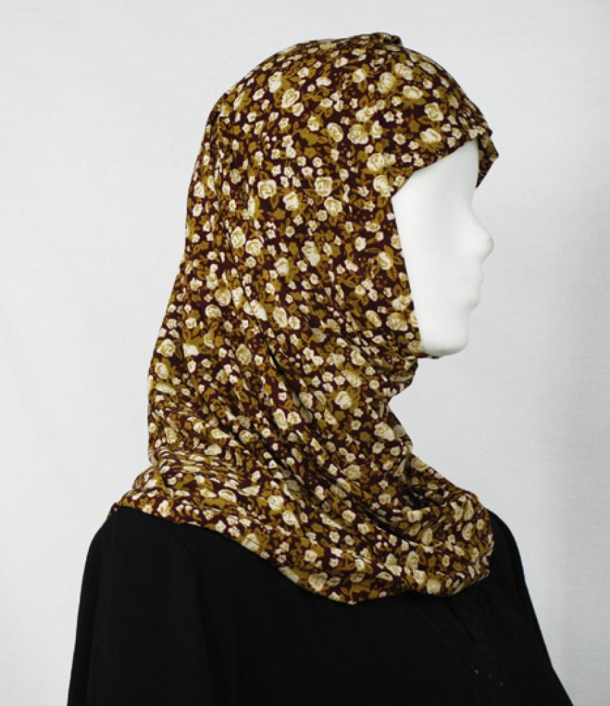 Floral Bloom Al Amirah Hijab hi1646