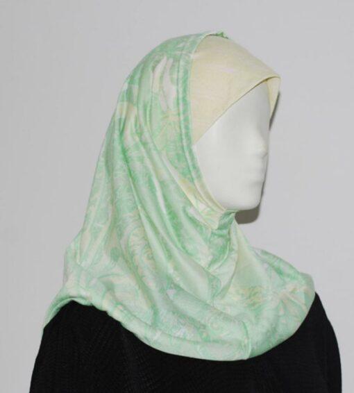 Pastel Swirl Al Amirah Hijab  hi1655