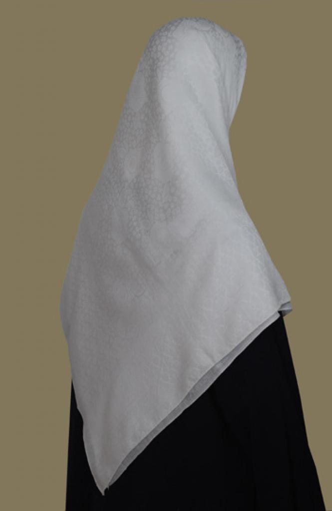 Oversized Floral Jacquard Hijab  hi1665