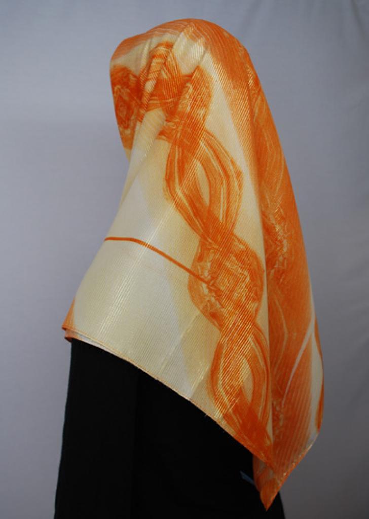 Lightweight Georgette Printed Hijab  hi1695