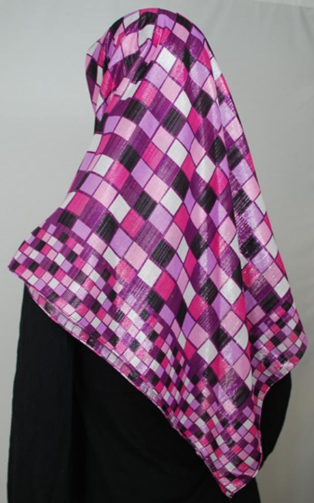 Lightweight Georgette Printed Hijab  hi1697