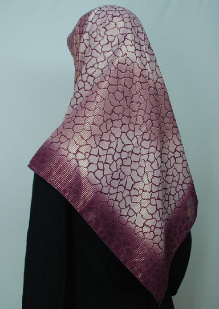 Lightweight Georgette Printed Hijab  hi1698