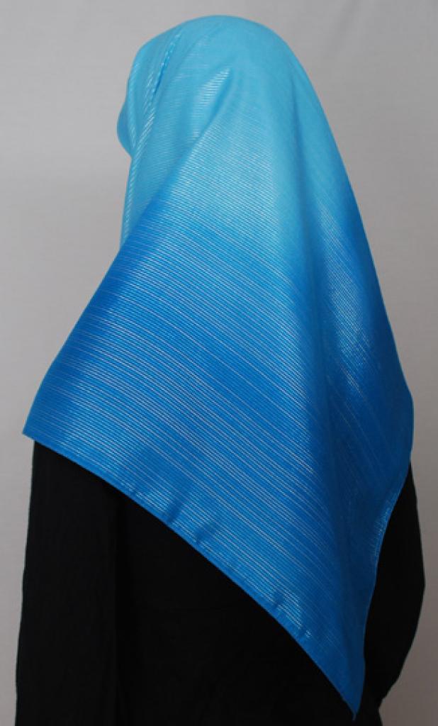Texture Striped Crepe Hijab hi1700