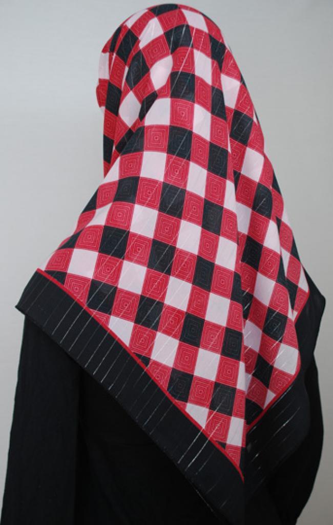 Lightweight Georgette Printed Hijab  hi1701