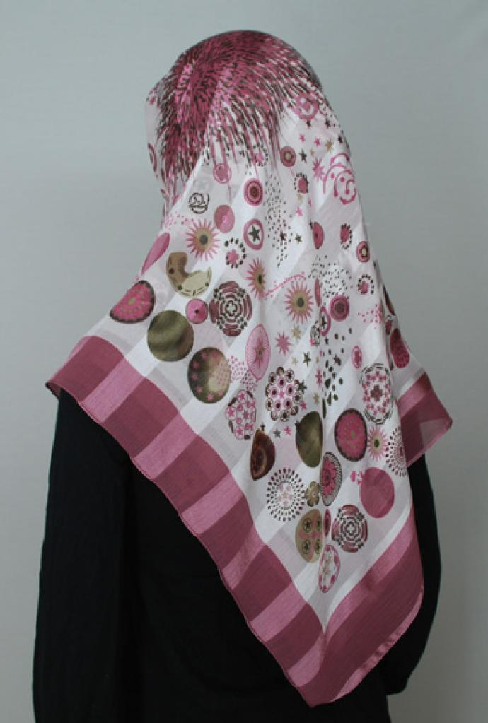 Lightweight Georgette Printed Hijab  hi1702