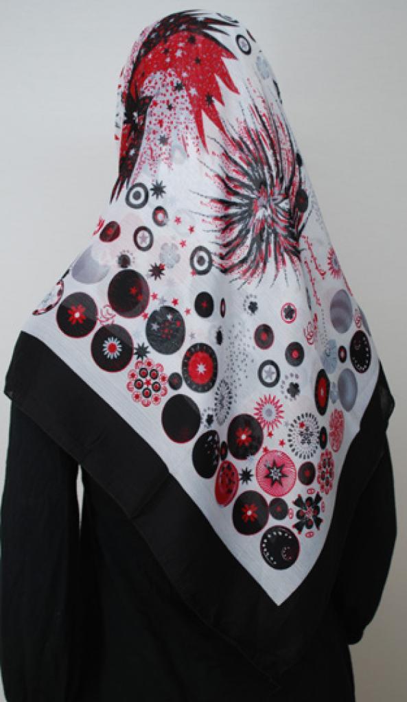 Turkish Crepe Hijab hi1705
