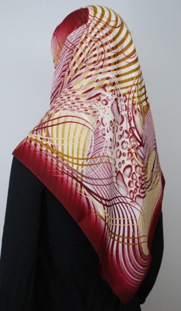 Turkish Crepe Hijab hi1707