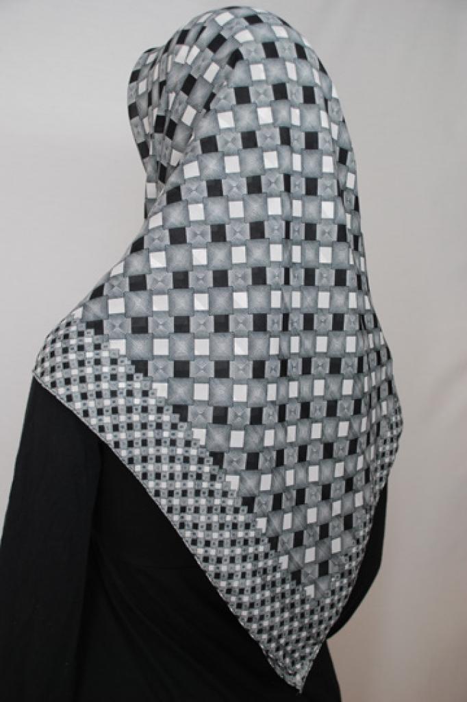 Lightweight Georgette Printed Hijab  hi1710