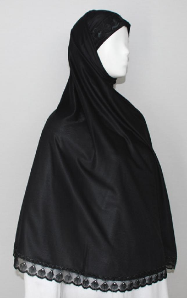 Extra Long Solid Color Al Amirah Hijab hi1717