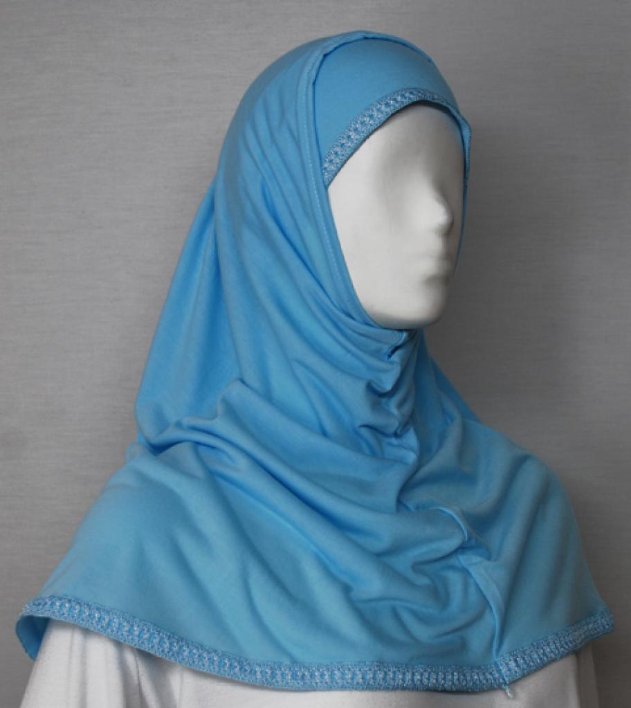 Embroidered Band Al Amirah Hijab hi1720