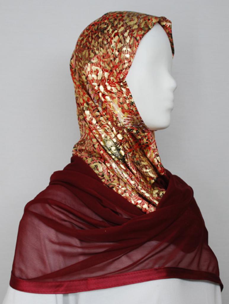 Kuwaiti Style Shayla Wrap  hi1721