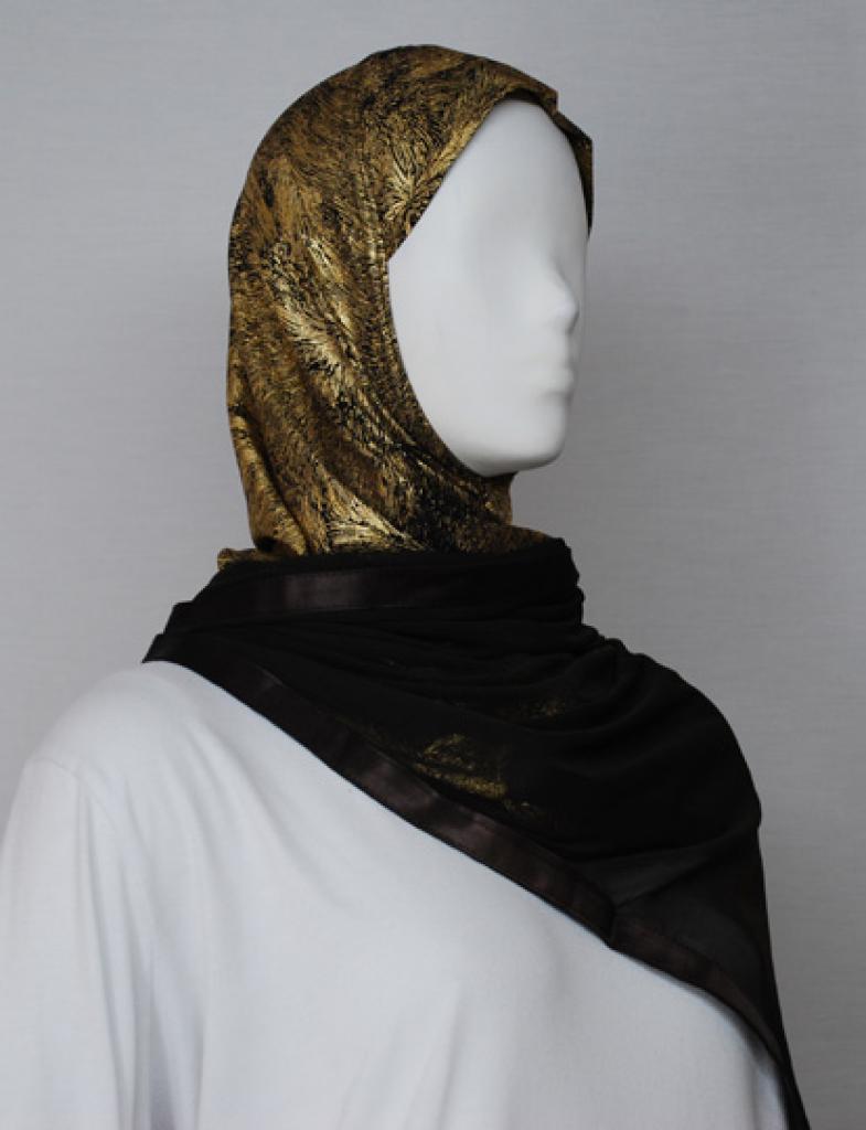 Kuwaiti Style Shayla Wrap  hi1731