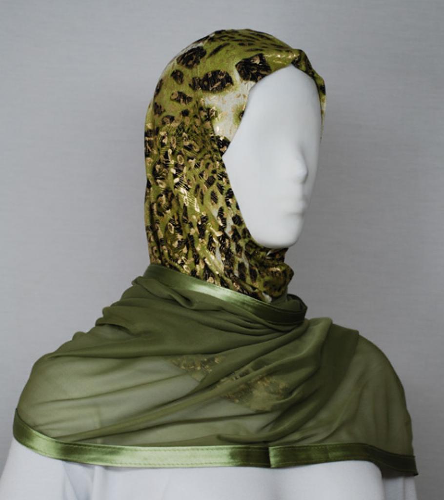 Kuwaiti Style Shayla Wrap hi1732