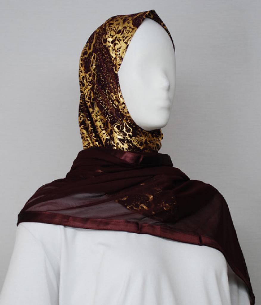 Kuwaiti Style Shayla Wrap  hi1733