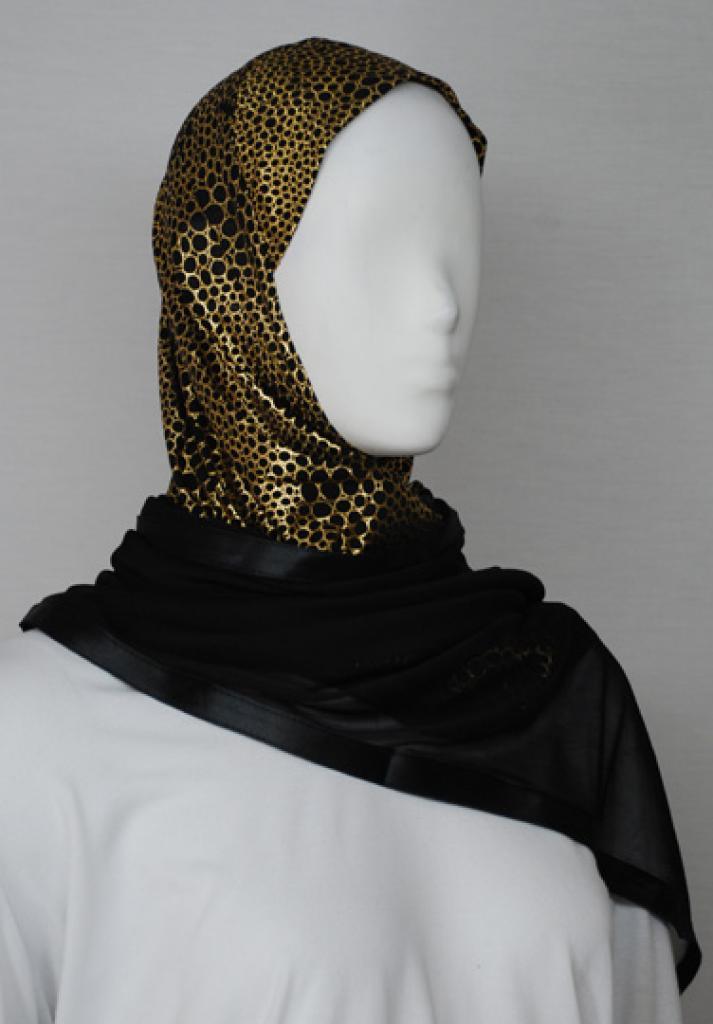 Kuwaiti Style Shayla Wrap  hi1735