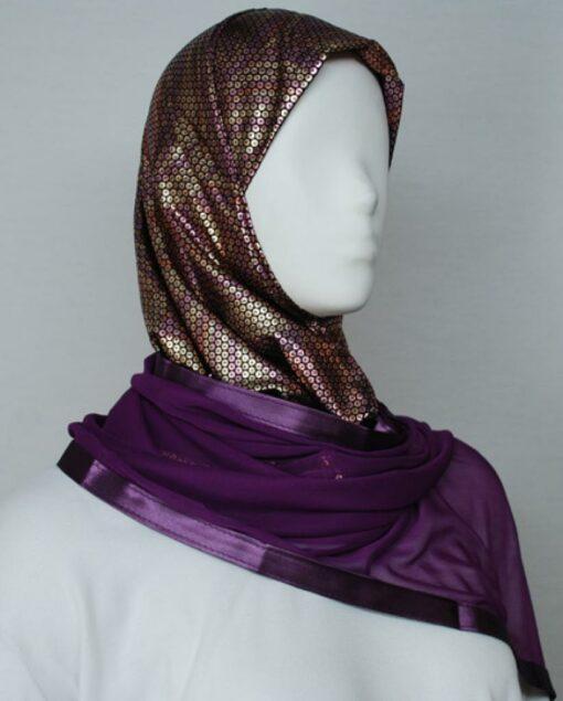 Kuwaiti Style Shayla Wrap hi1736