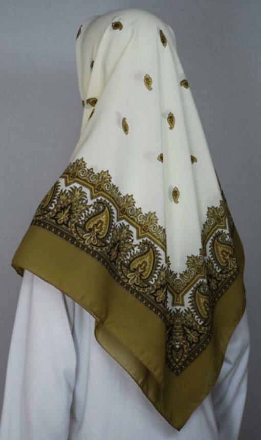Lightweight Turkish Gauze Printed Hijab hi1741