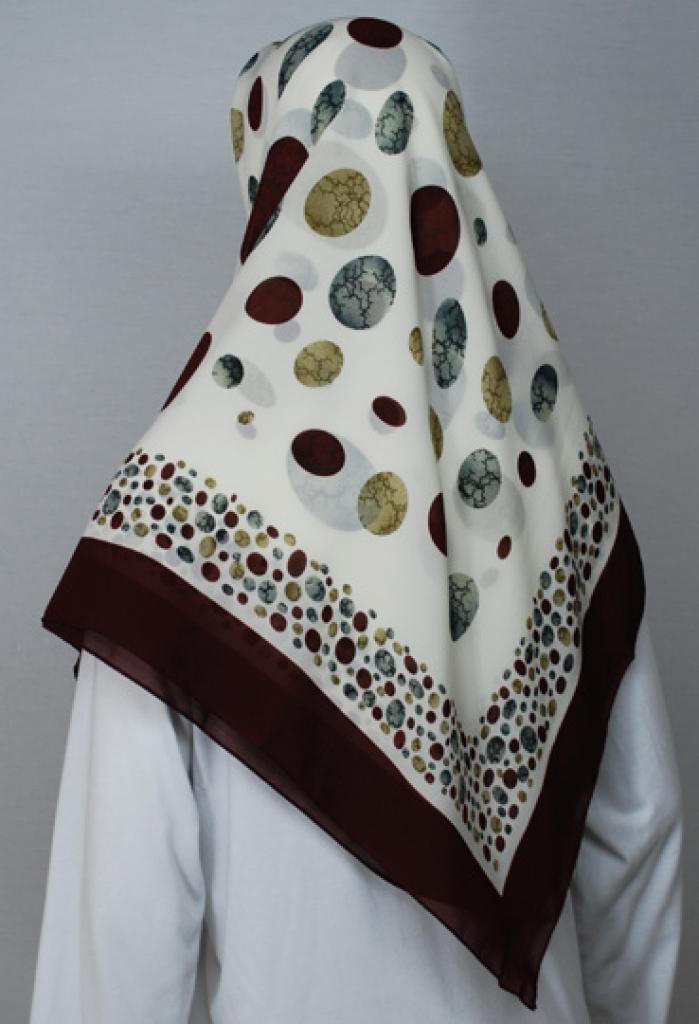 Lightweight Turkish Gauze Printed Hijab hi1742