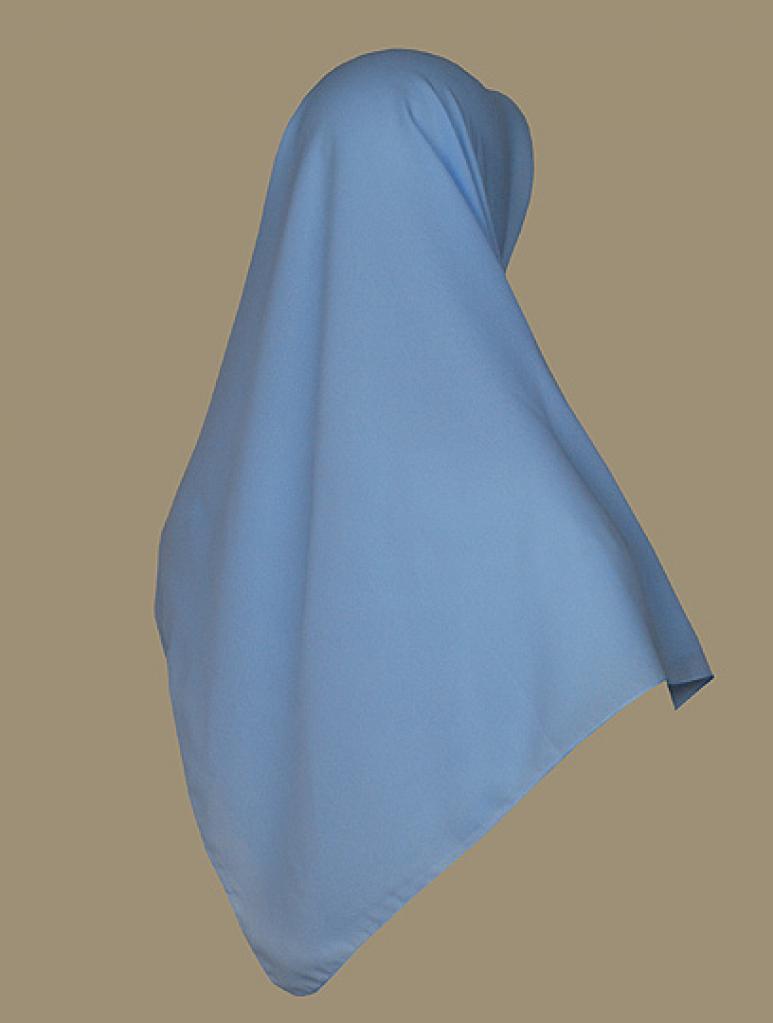 Solid Color Georgette Hijab hi1743