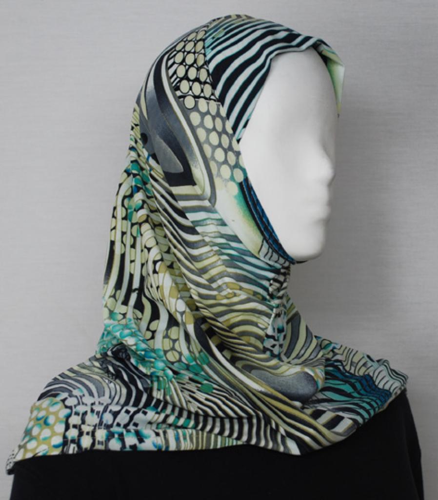 Lycra Al Amirah Hijab  hi1764