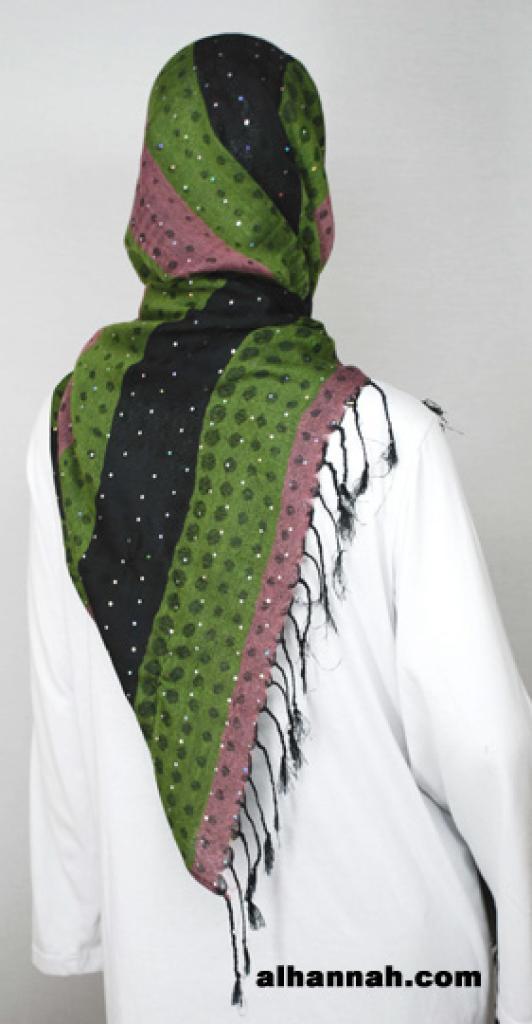 Acrylic Multitone Shayla Wrap hi1794