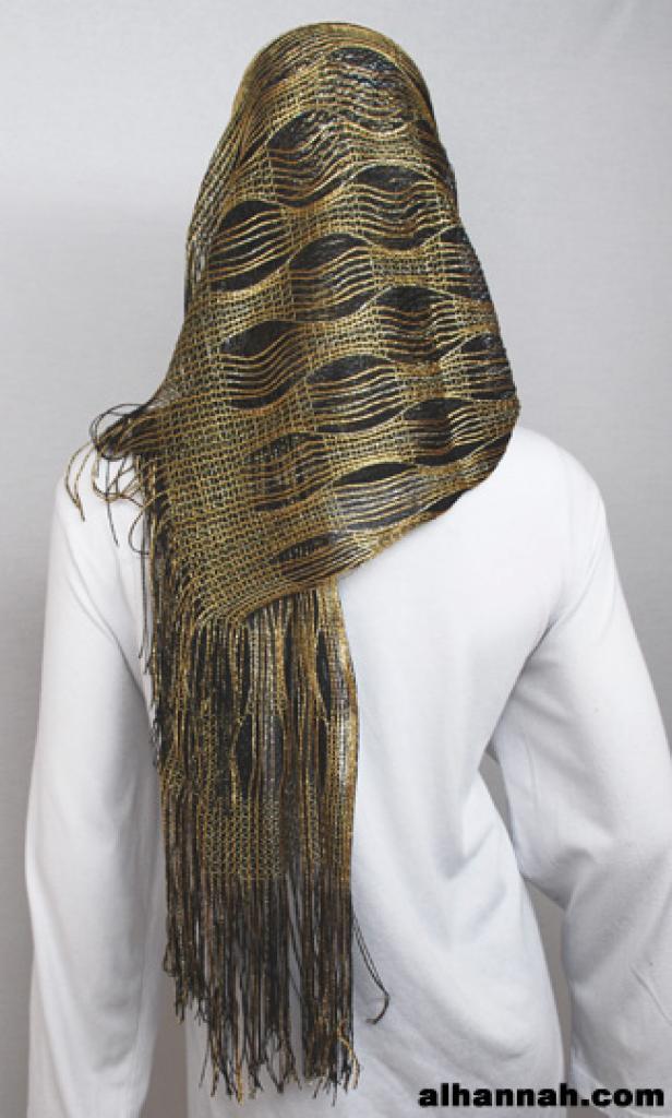 Satin-sheen Woven Gauze Shayla  hi1796