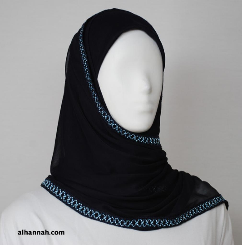 Kuwaiti Style Shayla Wrap  hi1805