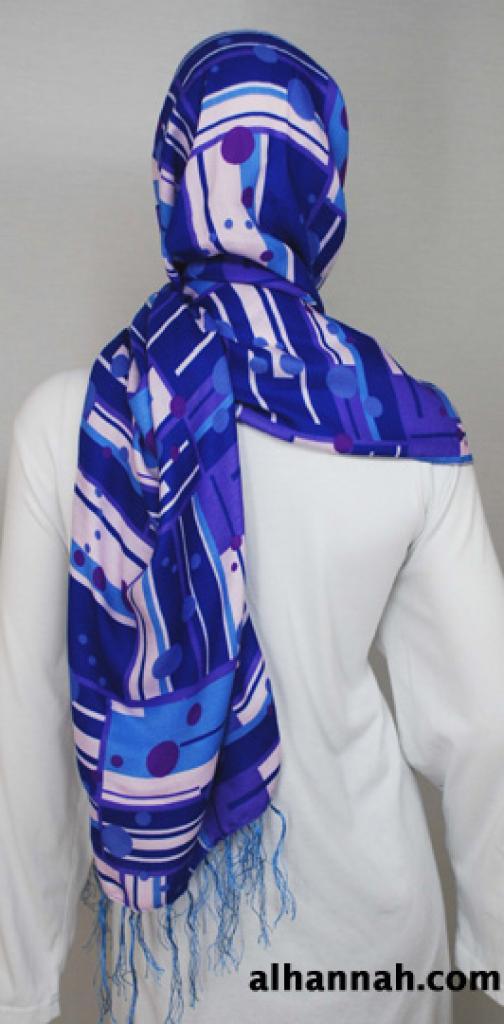 Multitone Print Shayla Wrap  hi1814