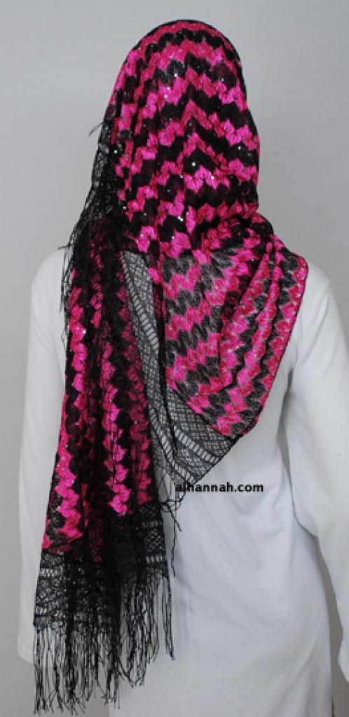 Acrylic Multitone Shayla Wrap  hi1815