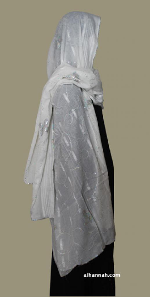 XXL Embroidered Cotton Shayla Wrap hi1816