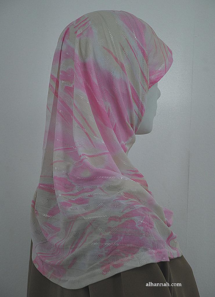 Swirls Print Al Amirah Hijab hi1834