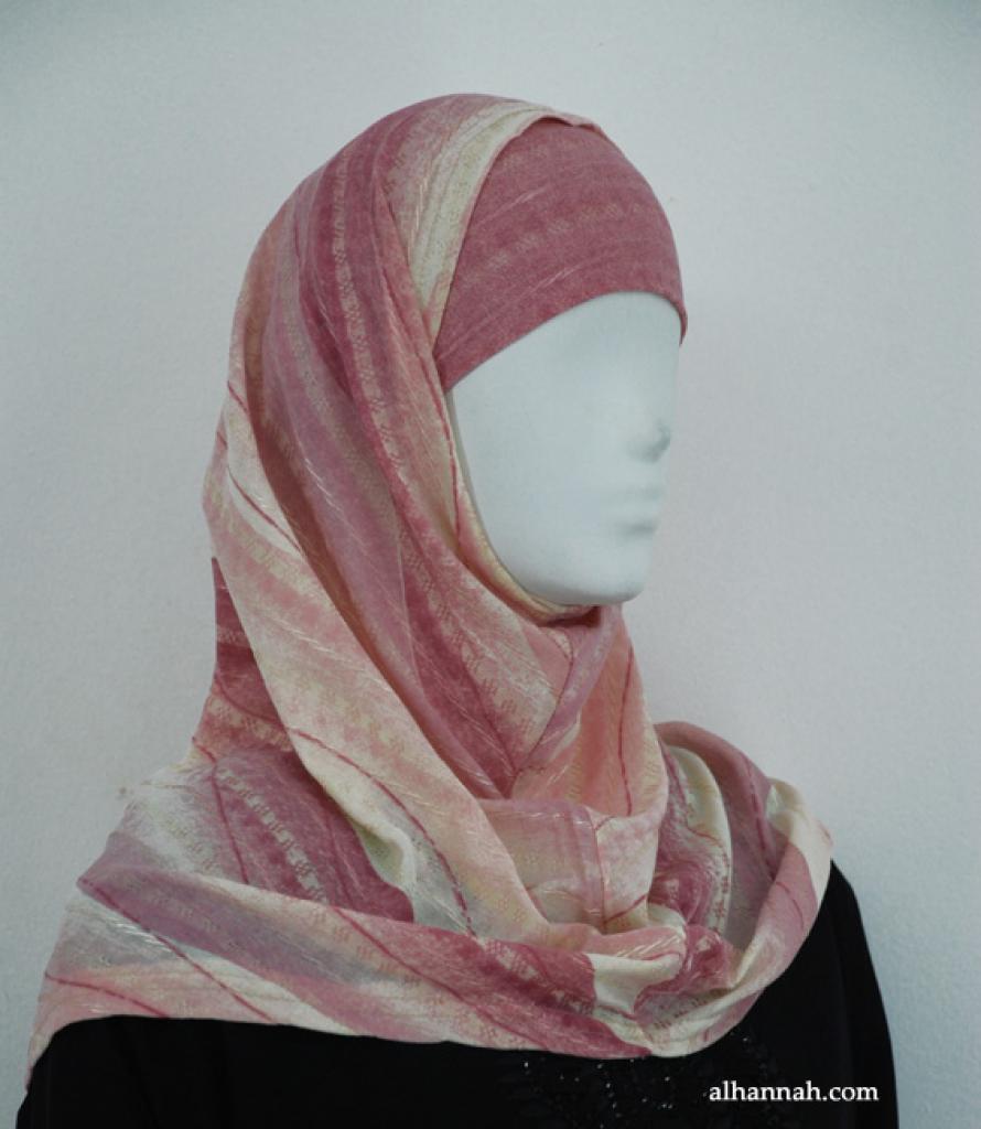 Printed Al Amirah Hijab hi1860