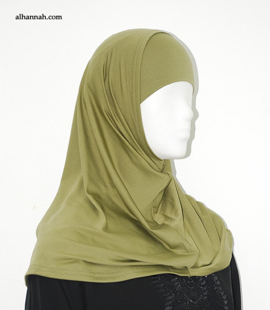 Lycra Al Amirah Shoulder Length Hijab hi1861
