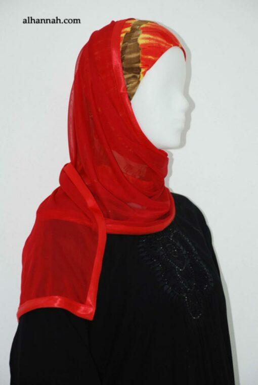 Kuwaiti Style Shayla Wrap  hi1868