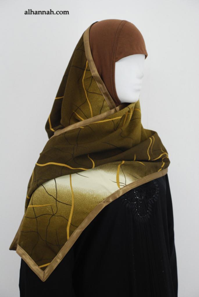 Kuwaiti Style Shayla Wrap  hi1870