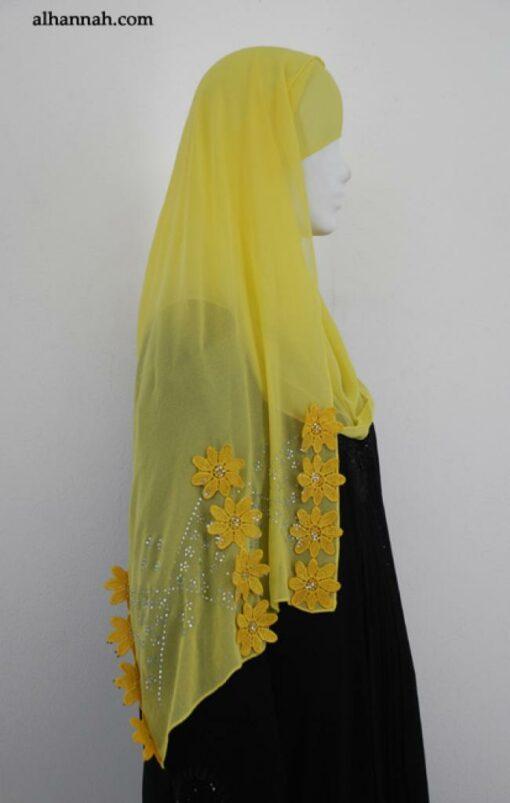 Floral Applique Shayla Wrap hi1874
