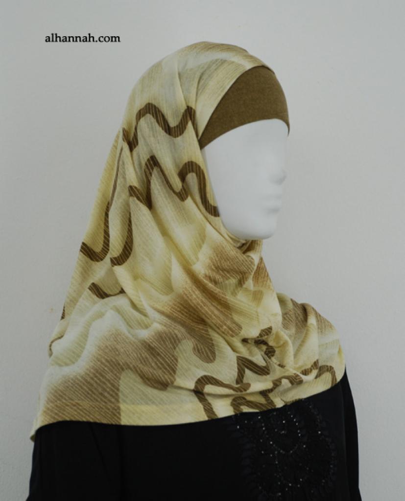 Printed Al Amirah Hijab hi1877