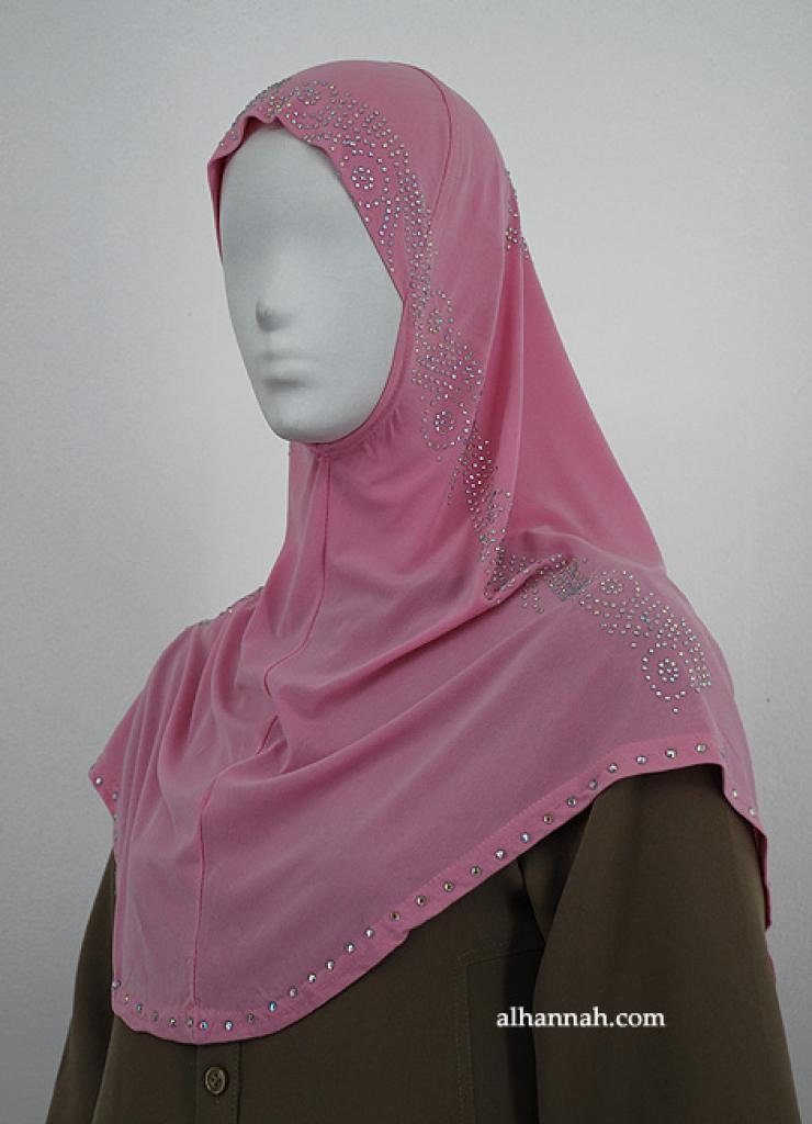 Al-Amirah One Piece Beaded Hijab hi1878