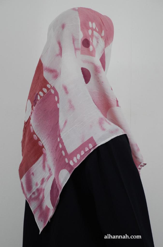 Printed Turkish Georgette Hijab hi1883
