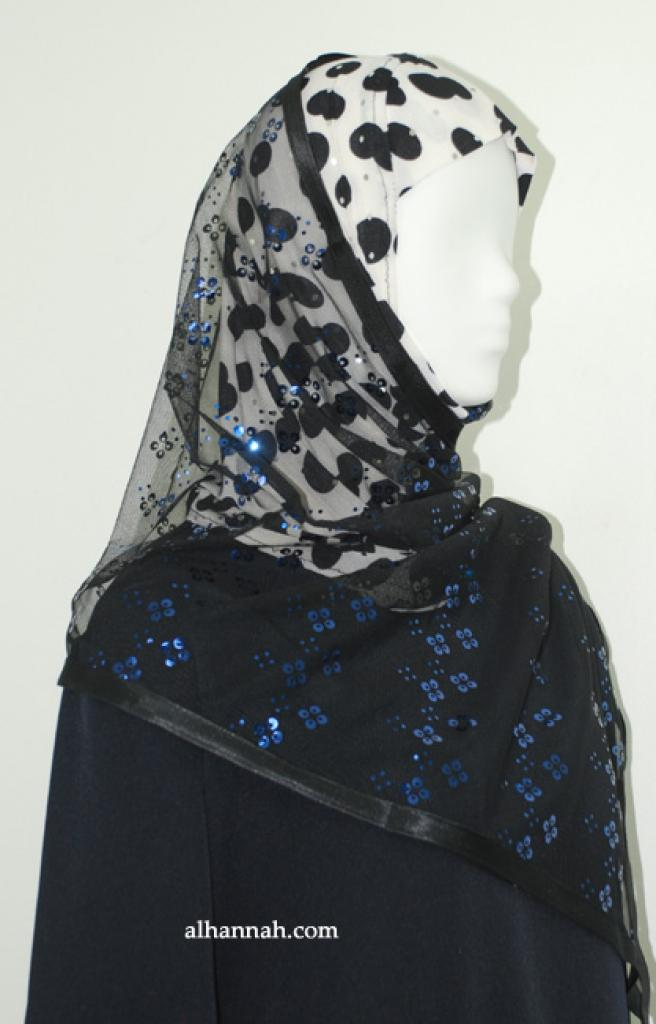 Kuwaiti Style Shayla Wrap hi1892