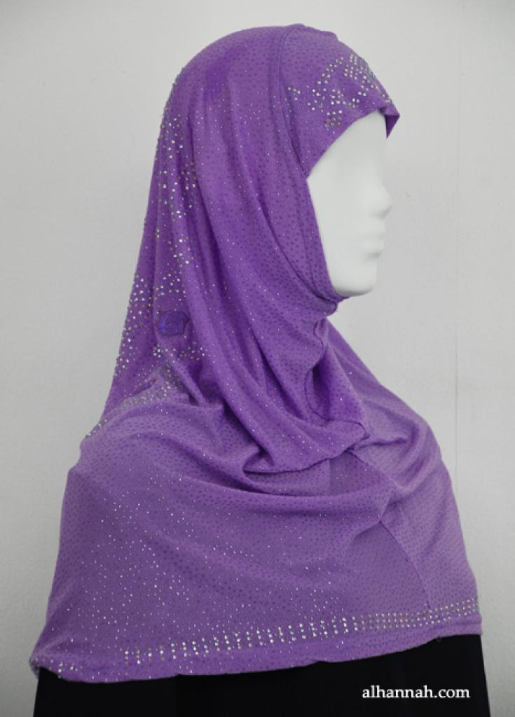 Al-Amirah One Piece Beaded Hijab  hi1894