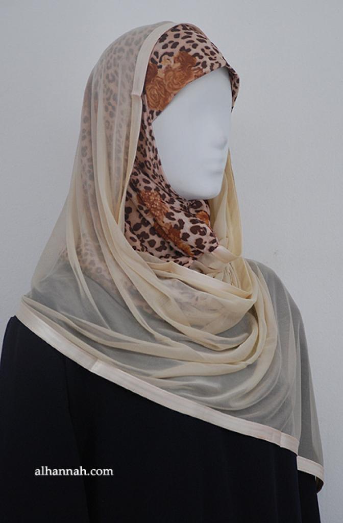 Kuwaiti Style Shayla Wrap hi1902