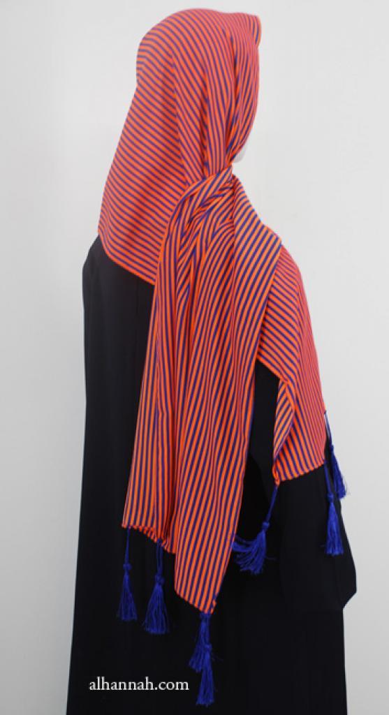Striped Fringed Shayla hi1914
