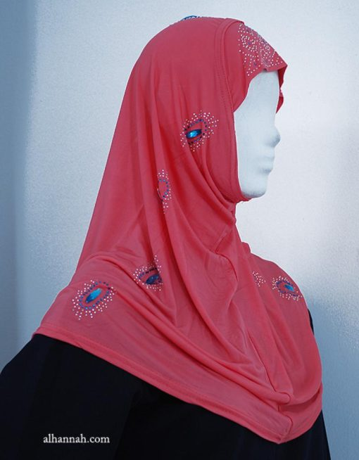 Beaded Al Amirah One-piece Hijab hi1918