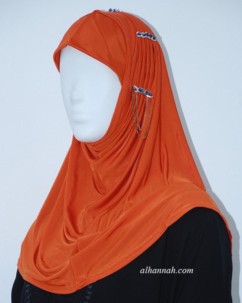 Beaded Al Amirah One-piece Hijab hi1923
