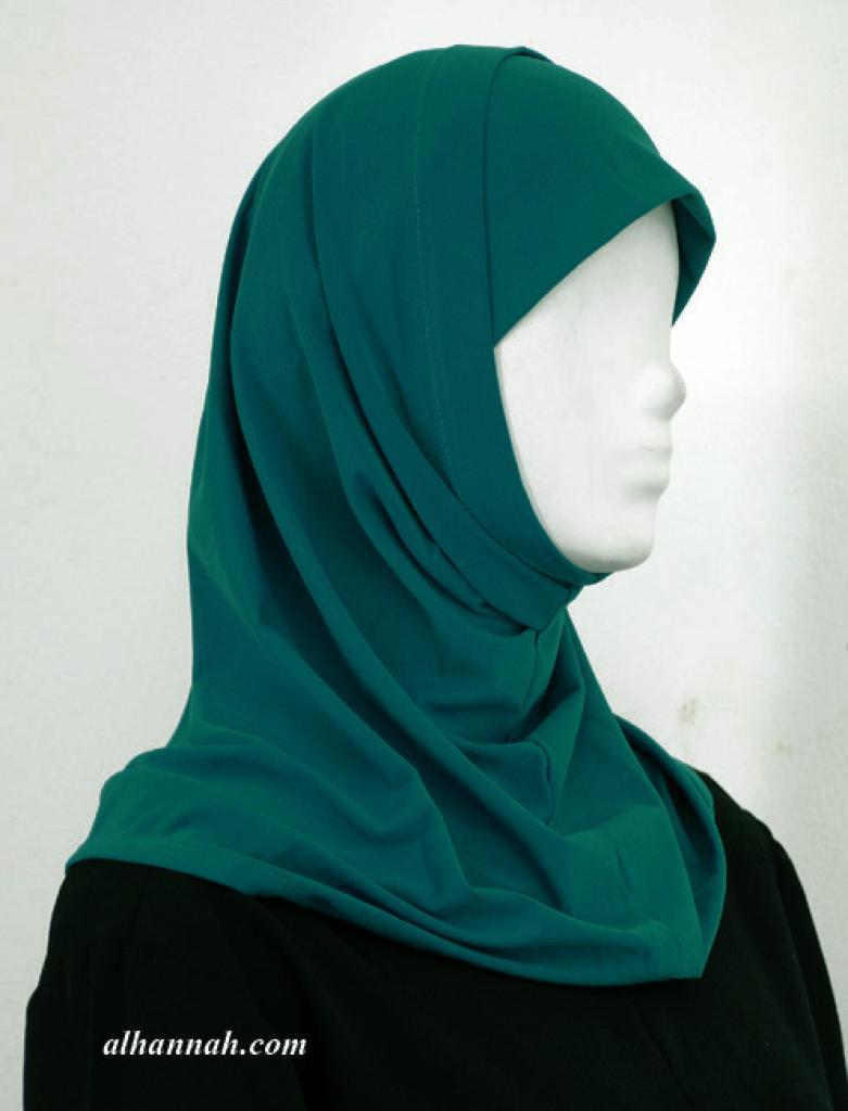Lycra Al Amirah Shoulder Length Hijab hi1924